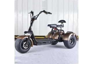 Электроскутер 3-х колёсный City Coco 2000W 20Ah 60V (T-4)