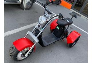 Электроскутер 3-х колёсный City Coco 3000W 20Ah 60V (T-3)
